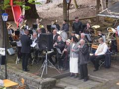 Erzgebirgische Blasmusikanten Zwönitz/Affalter e.V speilen bei uns zum 1. Mai