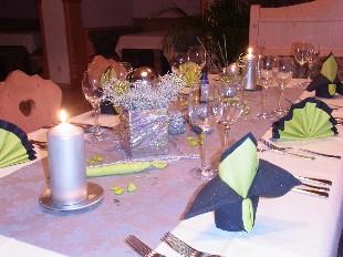Unsere Silvester-Deko 2013