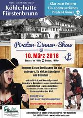 Aloahey - Klar zum Entern. Die Piraten-Dinner-Show