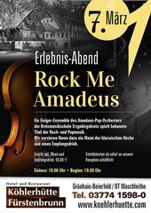 Erlebnis-Abend T´Rock Me Amadeus